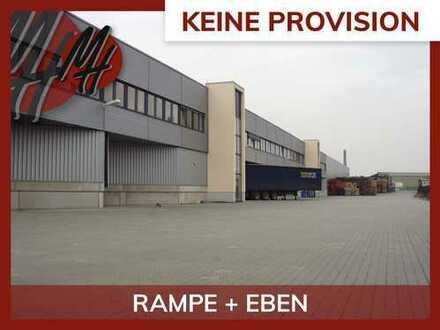 PROVISIONSFREI! Lager-/Logistikflächen (8.630 qm) & Büroflächen (90-450 qm) zu vermieten