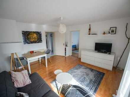 3-Zimmer-Wohnung mit Balkon und EBK in Augsburg Pfersee