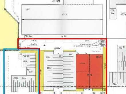 Großobjekt! Top aufgeteilt in mehrere Büro-und Hallenflächen sowie ein vermietetes Wohnhaus!