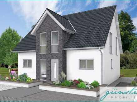 Hamm-Pelkum: Neubau eines Einfamilienhauses in grüner, zentraler Lage