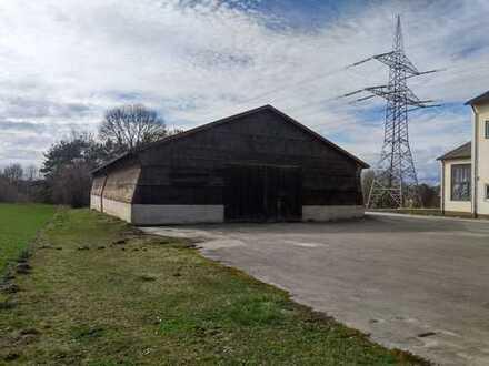 Lagerhalle auf einer ehemalige landwirtschaftliche Brennerei zu vermieten