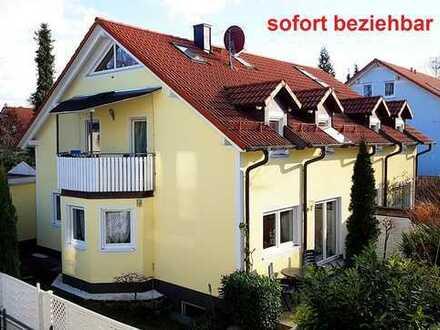 Sehr ruhige, neuwertige Doppelhaushälfte, 6 Zimmer, Top-Lage in München-Aubing