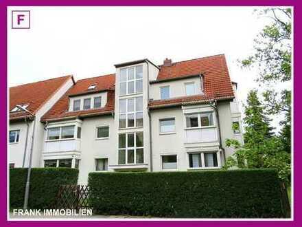 FRANK IMMOBILIEN - Schöne Dachgeschoss Maisonette-Wohnung in kleiner Stadtvilla!
