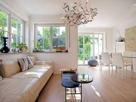 HEINRICH v. KÖLICHEN: Stilvolle 3-Zi-Terrassen-Wohnung im Münchener Westen