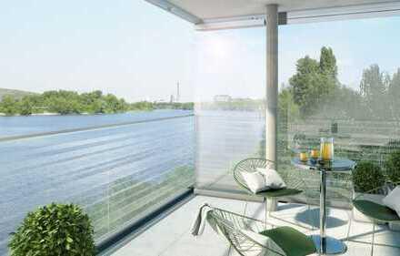 Erstbezug: stilvolle 3-Zimmer-Wohnung mit EBK und Balkon