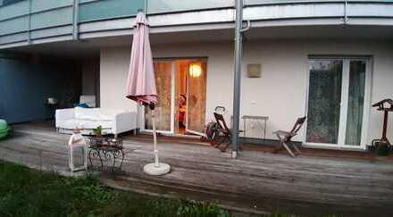 Großzügige 2-Zimmer-EG-Wohnung mit Terrasse und Garten in Erlangen Röthelheimpark