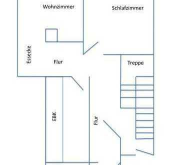 2 Zimmer-Wohnung mit Terrasse Bj. 2001