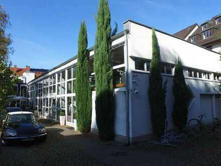 FR-Unterwiehre • Aussergewöhnliches Büro / Loft • ab 1. Februar 2021 • 9,85 € / m² • Blick ins Grün