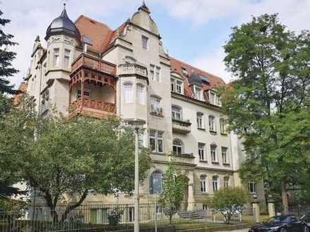 Wunderschöne 4-Raum-Wohnung mit 3 Balkonen +++ direkt am Campus der TU Dresden