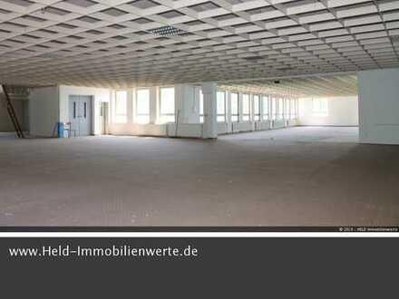 Vielseitig nutzbarer Gebäudekomplex mit 2.146 qm Büro-, Lager- u. Ausstellungsfläche.