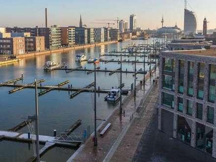 NEUBAU. Wohnen an der Wesermündung. Tolle 3-Zimmer-ETW mit maritimem Flair.