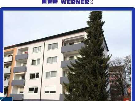 ***Helle, sehr gepflegte 3,5-Zimmer-Wohnung mit Balkon und Einzelgarage***