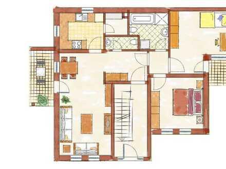 Helle und freundliche Wohnung im 1. OG - Wohnen auf ca. 78 m² - im Herzen von Worms
