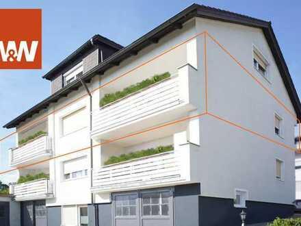 Kapitalanlage - Großzügige Eigentumswohnung mit 2 Balkonen und Gartenanteil