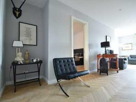 *Exklusives Wohndesign im Heusteigviertel* Voll möblierte Etagenwohnung zur Zwischenmiete!