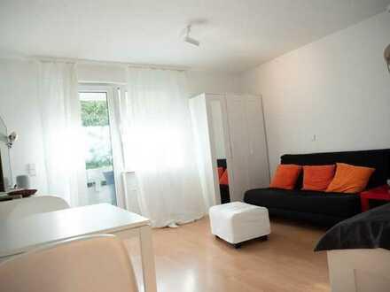 Möbliertes 1 Zimmer-Appartement mit Design-Klassiker in Echterdingen