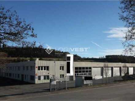 4.900 m² Logistik- und Produktionsfläche