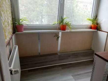 2,5-Zimmer-Wohnung mit Balkon und Garten- Mitbenutzung