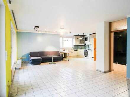 Bezugsfreie 2,5-Zi.-Erdgeschosswohnung mit großem Balkon und Garage im grünen Böblingen-Dagersheim
