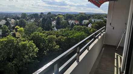 Penthouse-Feeling mit traumhaftem Blick bis in die Pfalz - Erstbezug nach Sanierung!