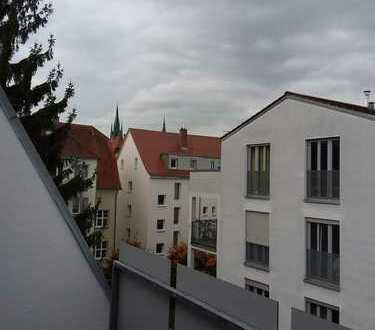 Erstbezug nach Komplettsanierung mit Dachterrasse: ansprechende 5-Zimmer-Maisonette-Wohnung in Ulm