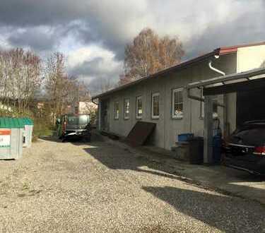 provisionsfreie Produktionshalle in Erbach mit 575 qm mit elektr. Sektionaltoren