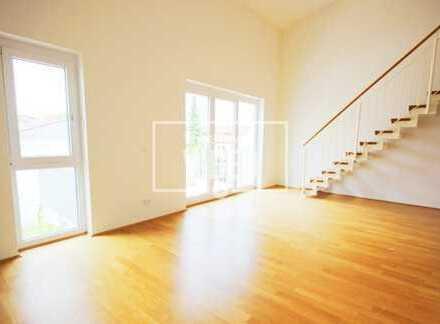 Moderne, helle 2 Zimmer-Maisonette Wohnung mit Balkon, Fahrstuhl und TG Platz in sehr ruhiger Lage!