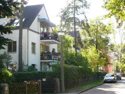 Für Kapitalanleger, vermietete Maisonette-Wohnung mit kleinem Garten und Parkplatz