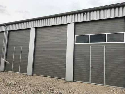 Hochwertige XL- und XXL-Garagen und Kleinlagerhallen mit elektrischem Sektionaltor in Grünstadt