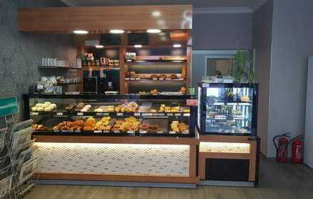 PROVISIONSFREI! Bäckerei mit Imbiss + Außenterrasse** Döner...Pizzeria...gegen Abstand zu vermieten!