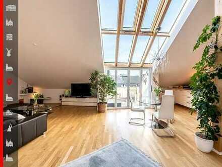 """Nachhaltiges Luxus""""Nest"""" 3-Zimmer-Dachgeschosswohnung zum Wohlfühlen"""