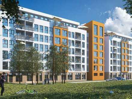 Eigene Terrasse und großer Wohnbereich mit offener Küche: Schöne 3-Zimmer-Wohnung in Top-Lage