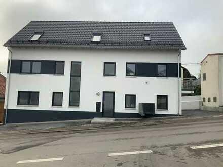 KFW 55 Erstbezug mit Terrasse : barrierefreien stilvolle 3-Zimmer-Erdgeschosswohnung in Erbach