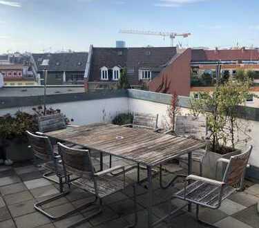 Luxuriöse 4 Zimmer Maisonette Dachgeschosswohnung im Herzen Mannheims