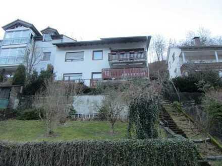 1- 2 - Familienhaus mit Garage in schöner Aussichtslage von Hirschhorn
