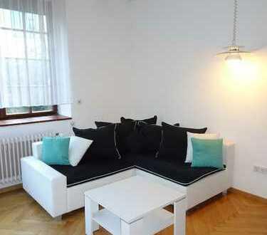 Möblierte 2 Zimmer Wohnung mit Terrasse am Kurpark