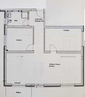 Erstbezug mit Balkon: stilvolle 3-Zimmer-Wohnung in Östringen-Tiefenbach