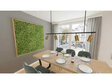 Schlüsselfertig! Herrliche 4-Zimmer-Wohnung mit riesigem Garten und sonniger Terrasse