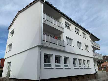 Gepflegte 3-Zimmer-Wohnung mit Balkon, 1.OG, in Dettenheim