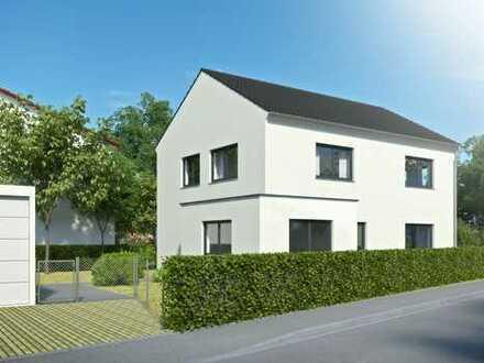 Modernes Neubau-Einfamilienhaus