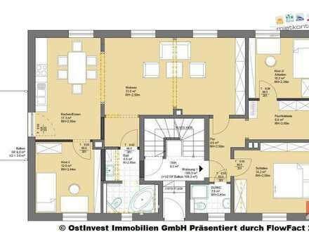Erstbezug nach Sanierung - 4 Raumwohnung und Balkon in ruhiger Lage