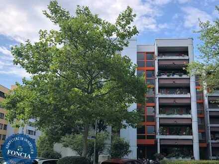 Unterhaching: Vermietete 2-Zimmer-Wohnung mit Aufzug und Balkon in gepflegter Anlage