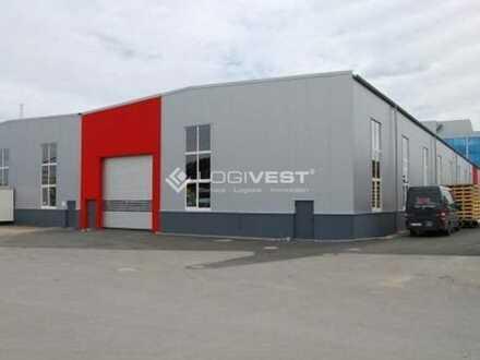 Gepflegte Bestandshalle für Lager und Produktion.