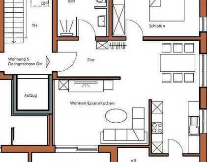 Helle 2-Zimmer Wohnung in Ichenhausen, Erstbezug