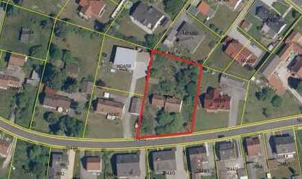sonniges 1.947 m² Wohngrundstück mit Alt-Gebäudebestand,  leichte Südhanglage in Sorghof/Vilseck