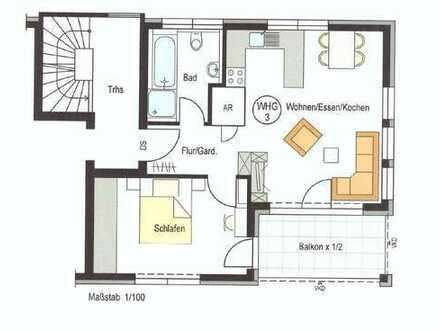 Erstbezug: Stillvolle 2-Zimmer-Wohnung in der Reutlinger Innenstadt