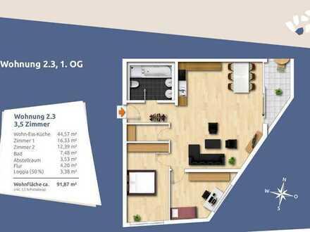 Großzügige 3,5- Obergeschosswohnung in absulut zentraler Lage