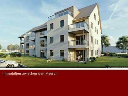 Bauvorhaben Schobüller Straße: Dachgeschosswohnung mit Dachterrasse und Nordseeblick