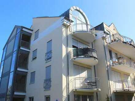 Schöne 3-Zimmer-Maisonettewohnung mit zwei Balkonen in Dossenheim