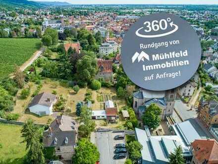 Fast 3.500 Quadratmeter großes Traumgrundstück in Bensheim!